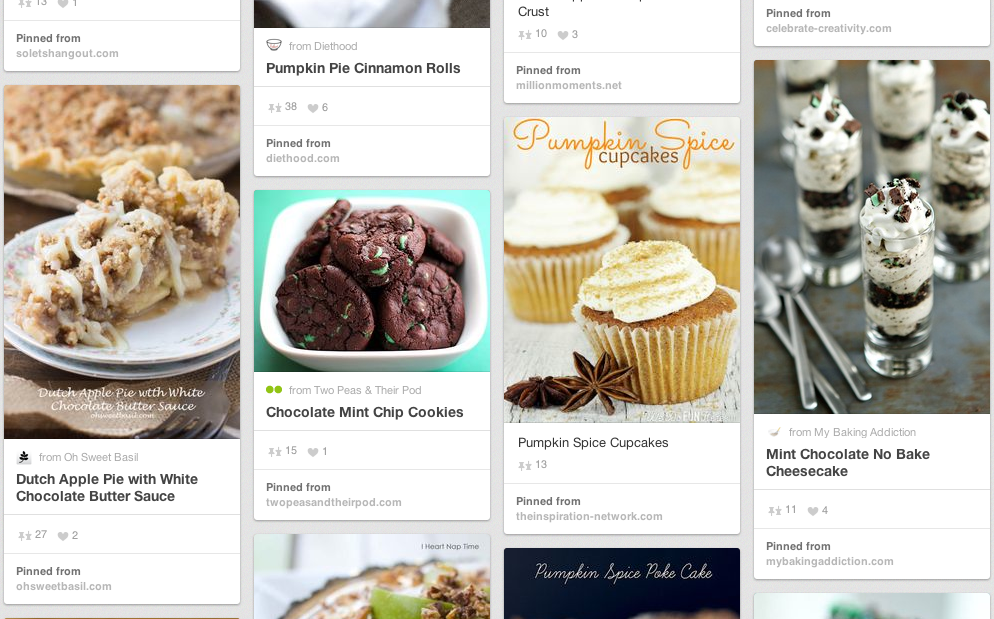 Get inspired with flavorful ideas using pumpkin, apple, and mint!