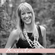 Love Grows Wild Contributor, Krista, of Joyful, Healthy Eats