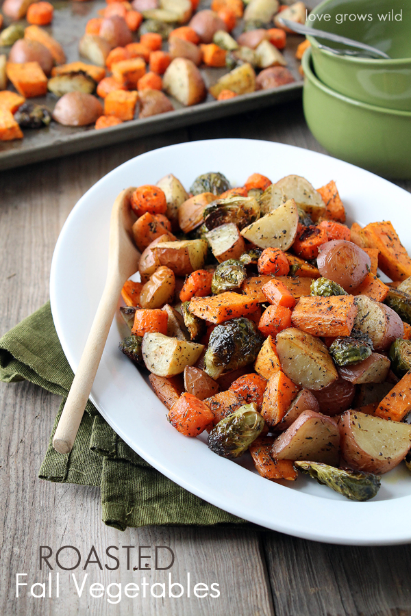 Roasted Fall Vegetable Recipe