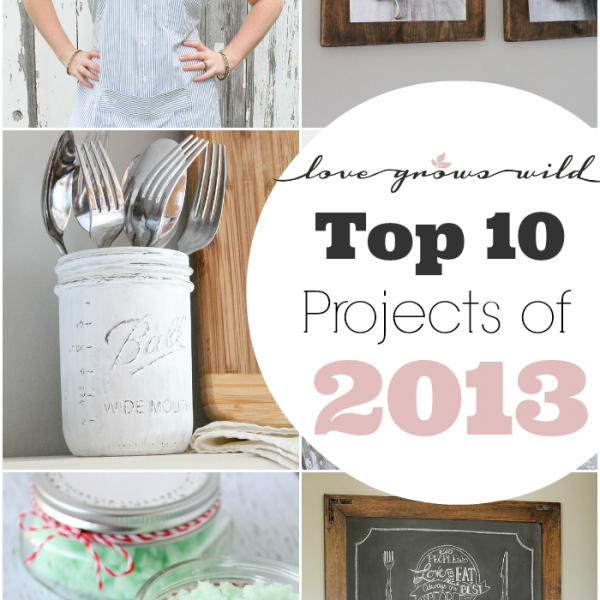 Top 10 Projects of 2013 - Love Grows Wild Reader Favorites!