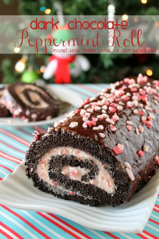 Dark Chocolate Peppermint Roll