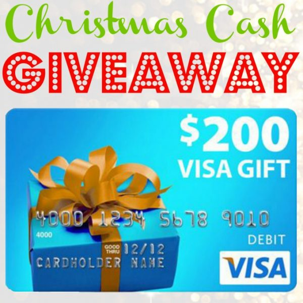 $200 Visa Christmas Cash Giveaway!