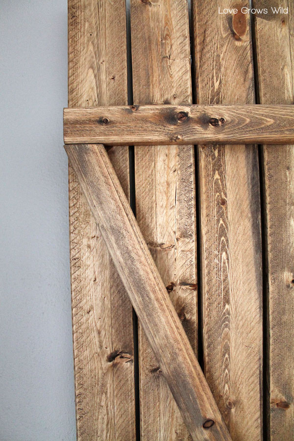 Diy Barn Wood Shutters Love Grows Wild