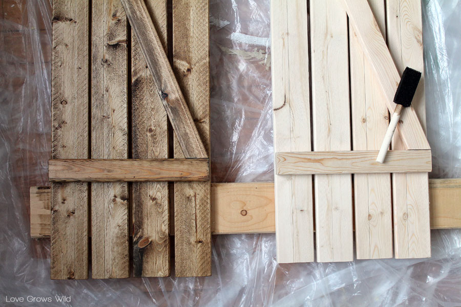 Diy barn wood shutters love grows wild how to create diy barn wood shutters solutioingenieria