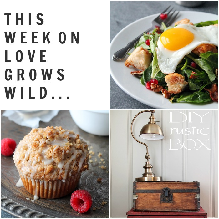 Projects and Recipe from LoveGrowsWild.com