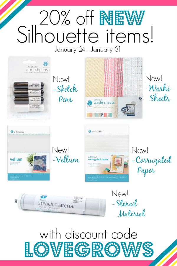 Silhouette Tote Bundle Promotion with New Products!