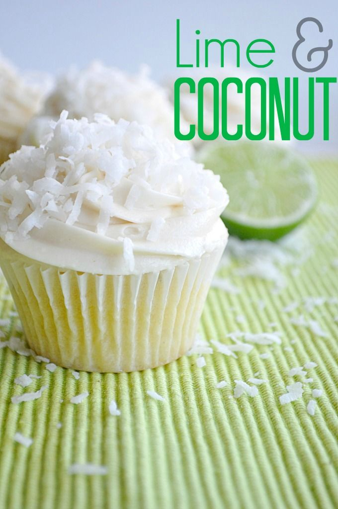 Lime and Coconut Cupcakes