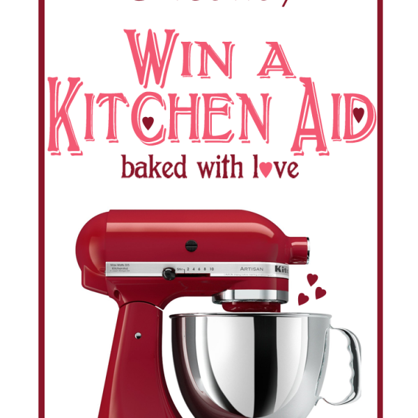 Enter to win a Kitchen Aid Stand Mixer at LoveGrowsWild.com!
