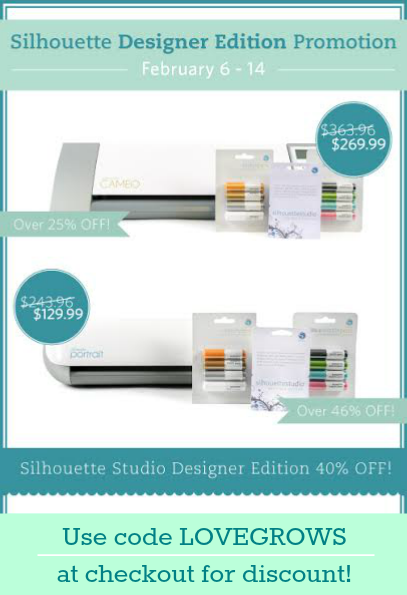 Silhouette Studio Designer Edition Software Promotion