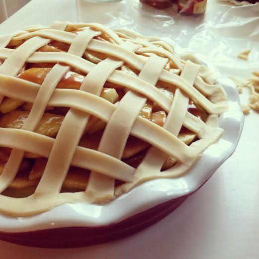 Apple Pie | via LoveGrowsWild.com
