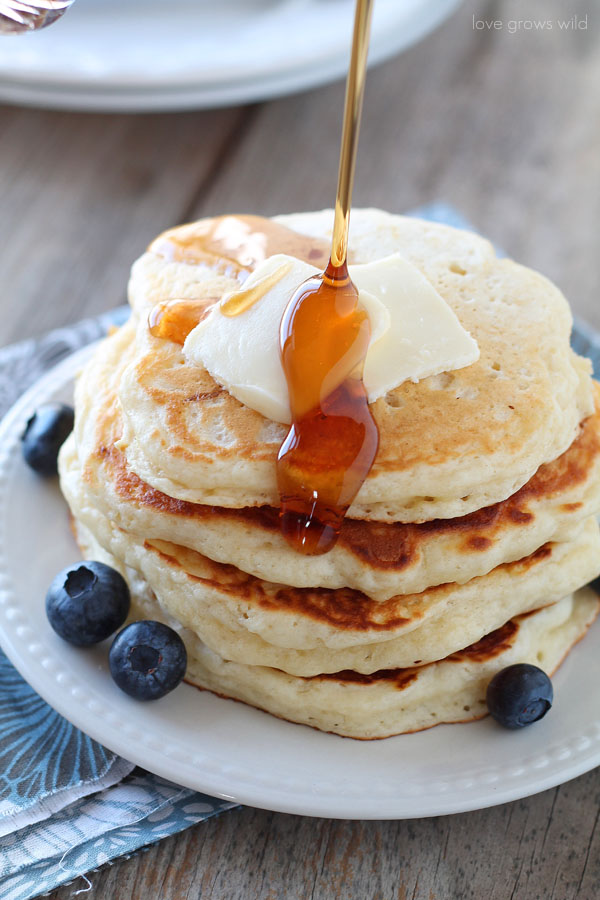 Buttermilk Pancakes Love Grows Wild
