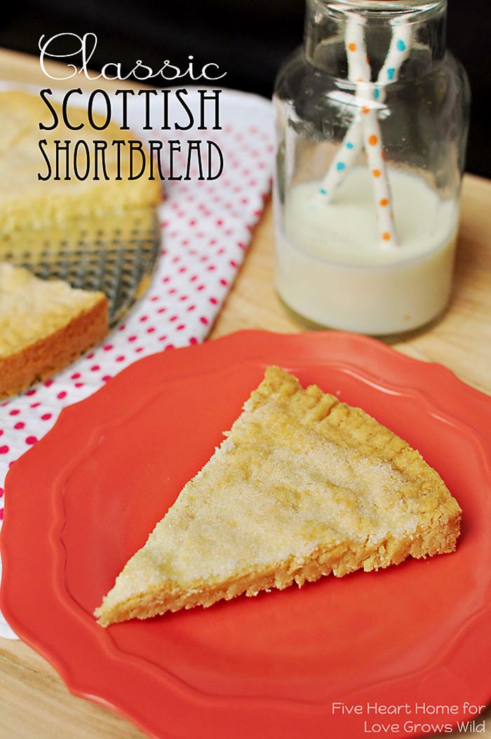 Classic Scottish Shortbread recipe | LoveGrowsWild.com