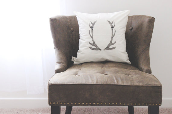 Parris Chic Boutique Antler Pillow