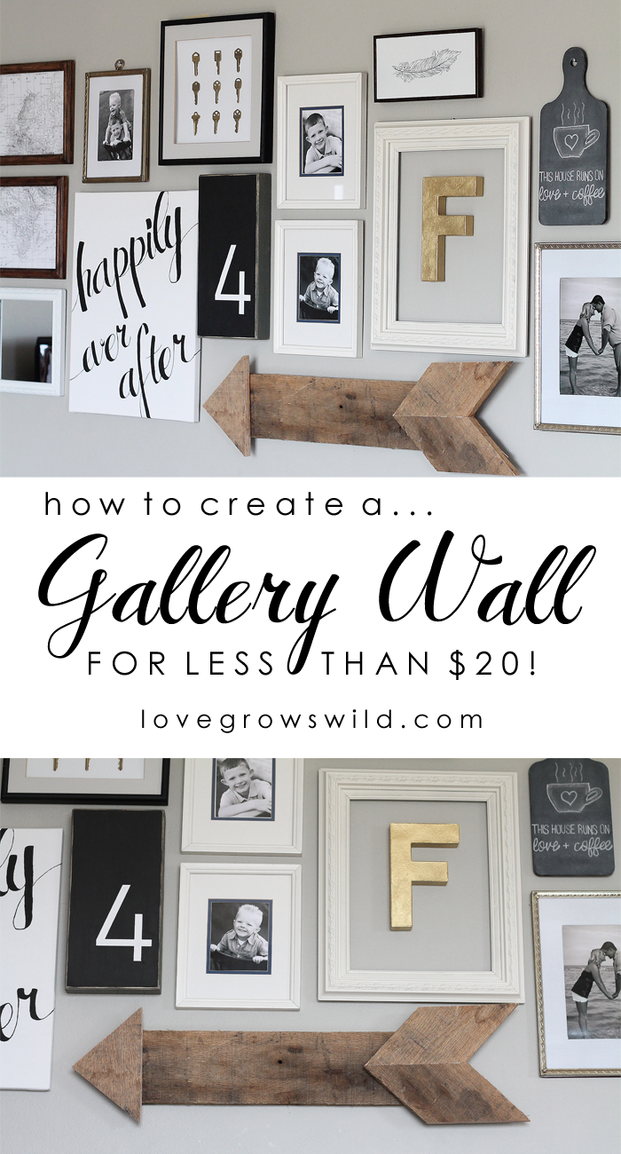 Living Room Gallery Wall Love Grows Wild