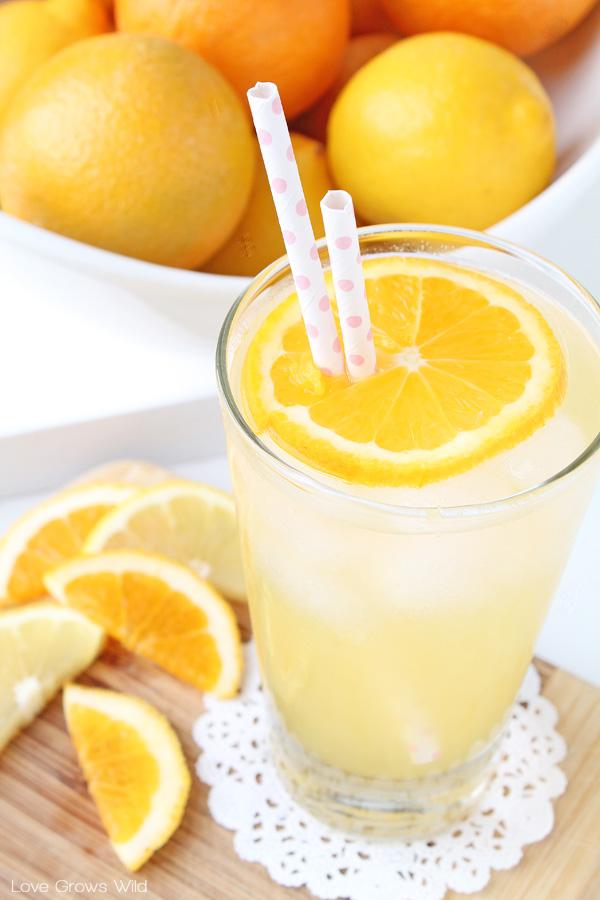 Orange Lemon Shake-up | LoveGrowsWild.com