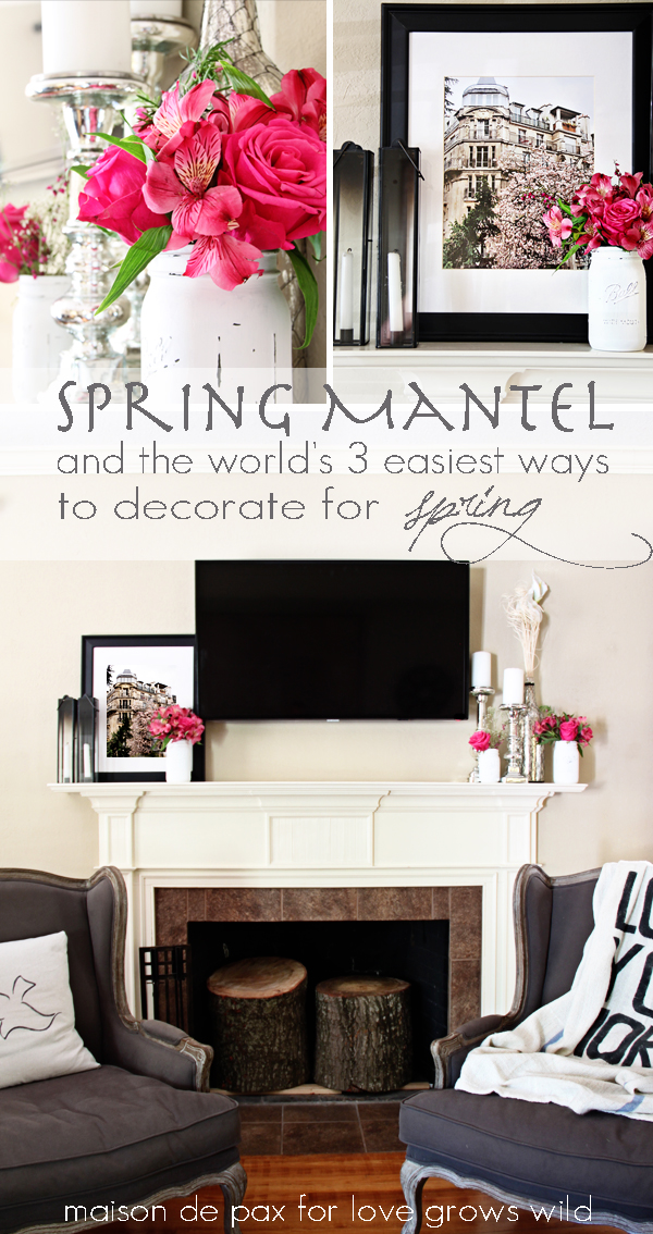 Easy Spring Decorating Ideas Love Grows Wild