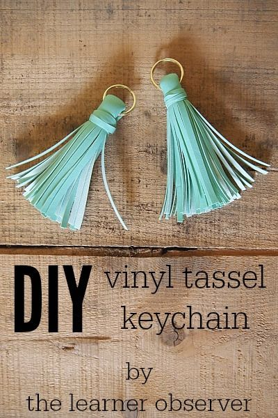 DIY Tassel Keychain