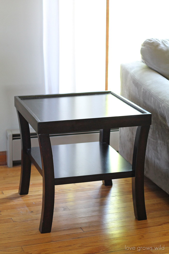 Give your furniture a high-end, custom look with nailhead trim! Come see how easy it is!   LoveGrowsWild.com
