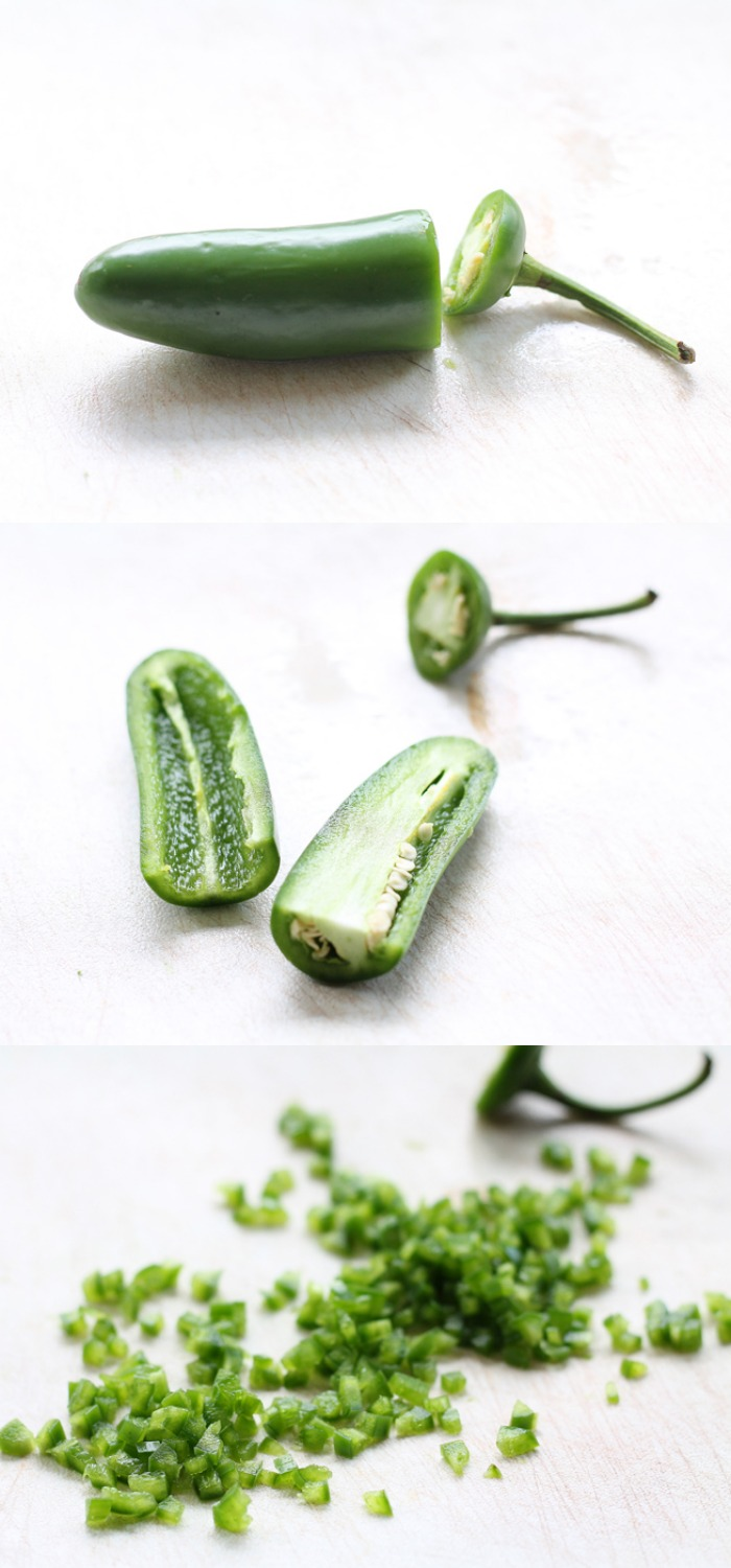 Like spicy but not TOO spicy? Learn how to de-seed jalapenos for the perfect mild heat in your recipes! | LoveGrowsWild.com