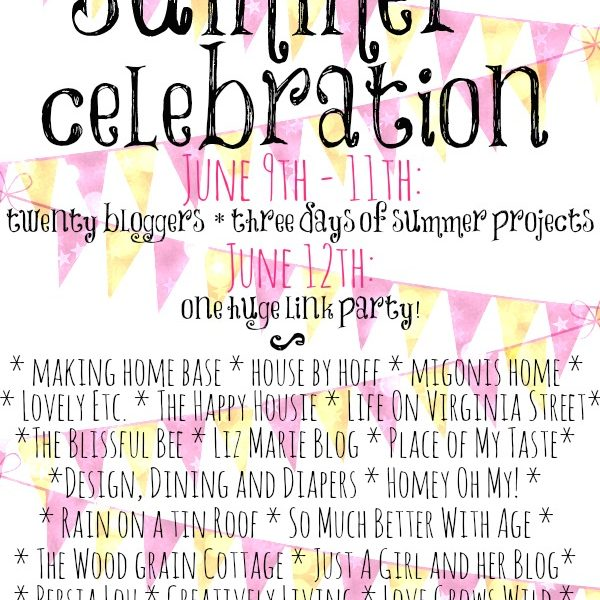 A GIANT celebration of summertime projects, decor, recipes, and more! Come get inspired! | LoveGrowsWild.com