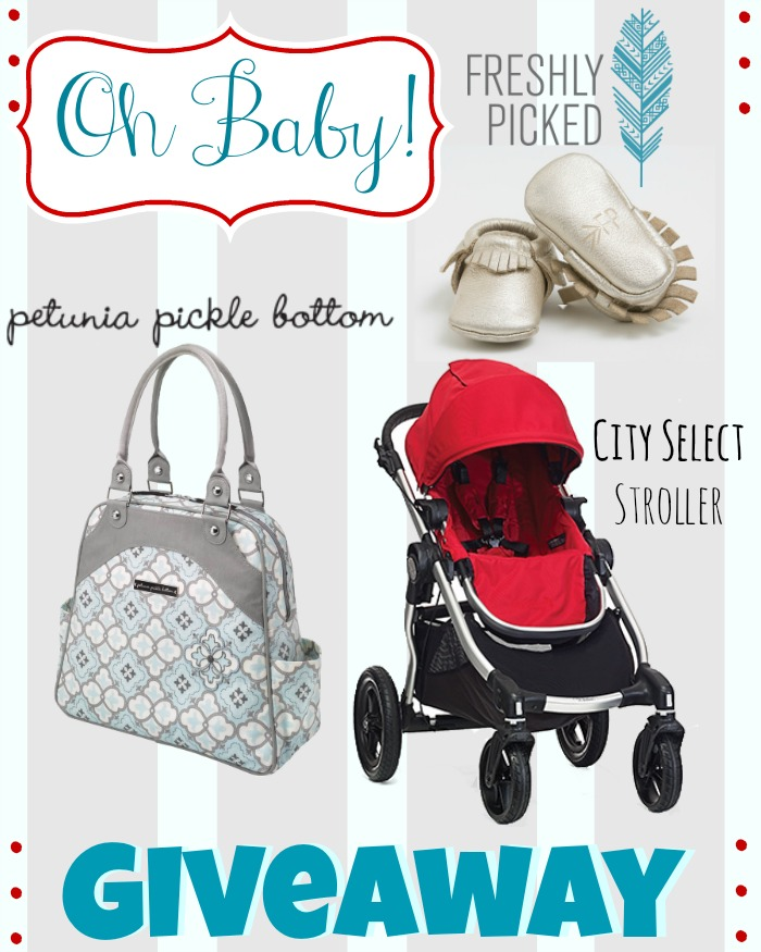 Enter to win the ULTIMATE Baby Gear Giveaway at LoveGrowsWild.com!