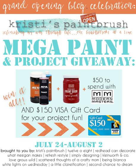 Enter to win the perfect prizes to tackle that paint project you've been wanting to do! | LoveGrowsWild.com