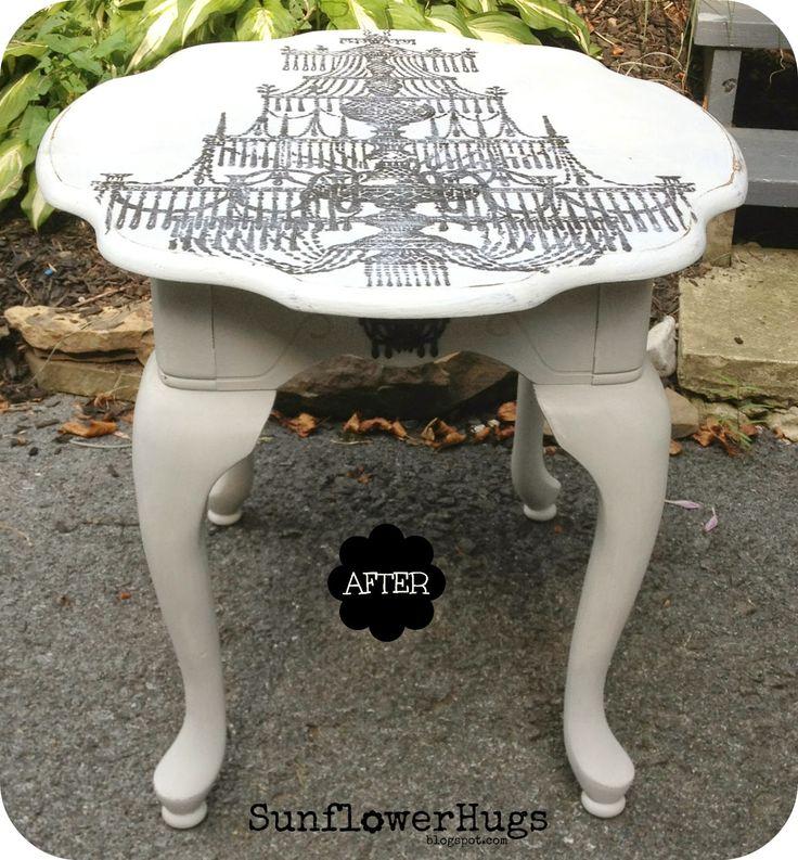 Chandelier Table