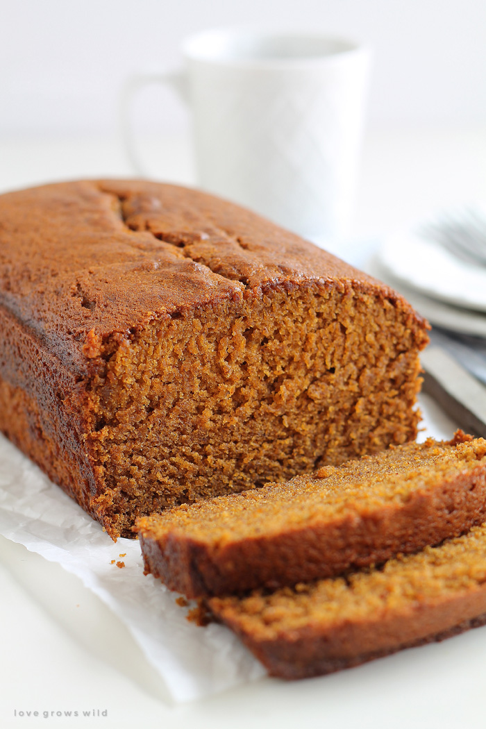 Pumpkin Bread - Love Grows Wild