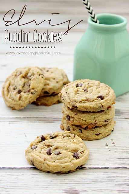 Elvis Pudding Cookies