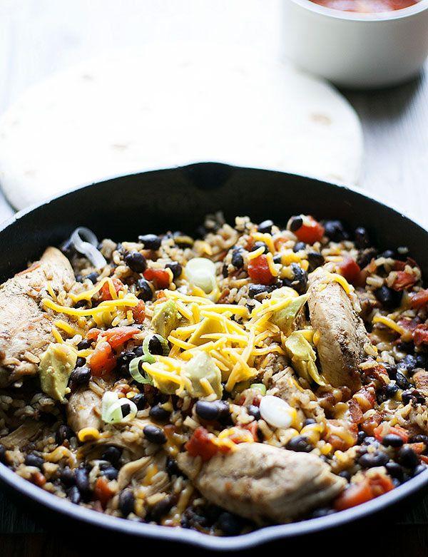 Chicken Taco Skillet Meal