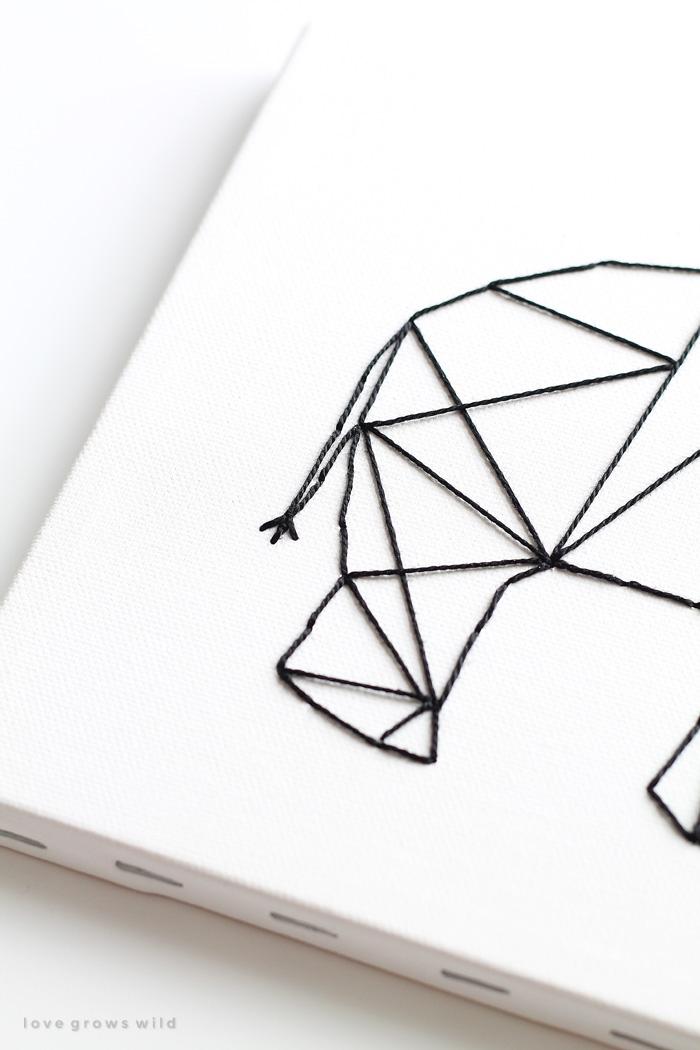 Animal Geometric Art Designs
