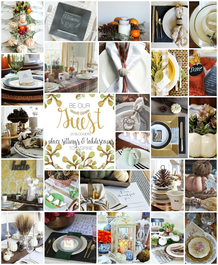 Simple rustic table setting | Thanksgiving Table Settings And Decor Ideas To WOW Your Guests | easy thanksgiving table decorations | Featured