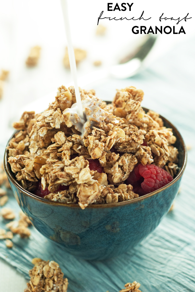 Easy French Toast Granola
