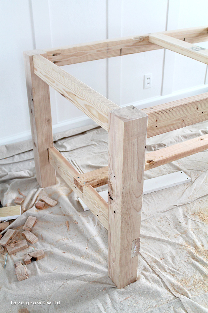 diy farmhouse table love grows wild