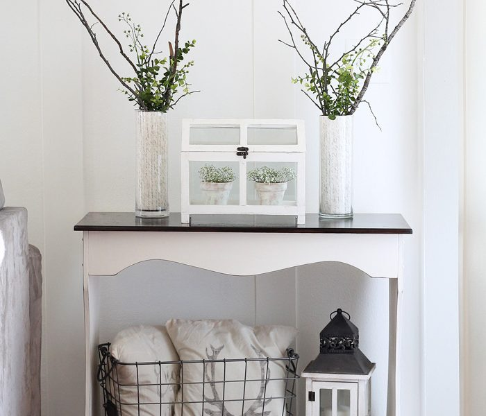 Update your home for spring with these simple, inexpensive ideas from LoveGrowsWild.com - click for more photos!