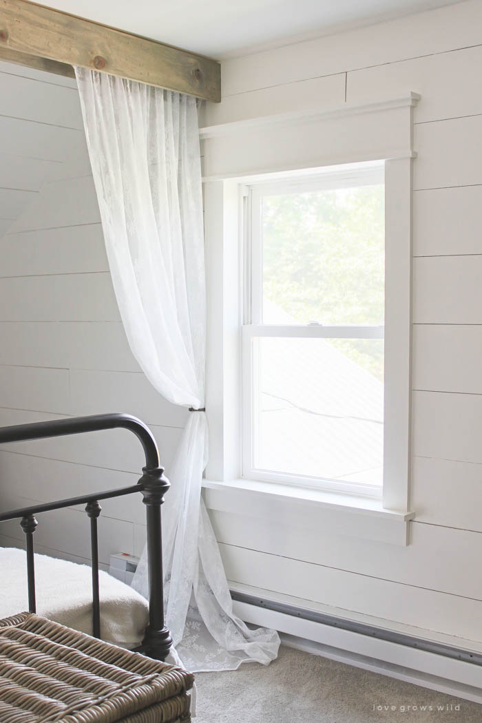 Farmhouse Window Trim Love Grows Wild