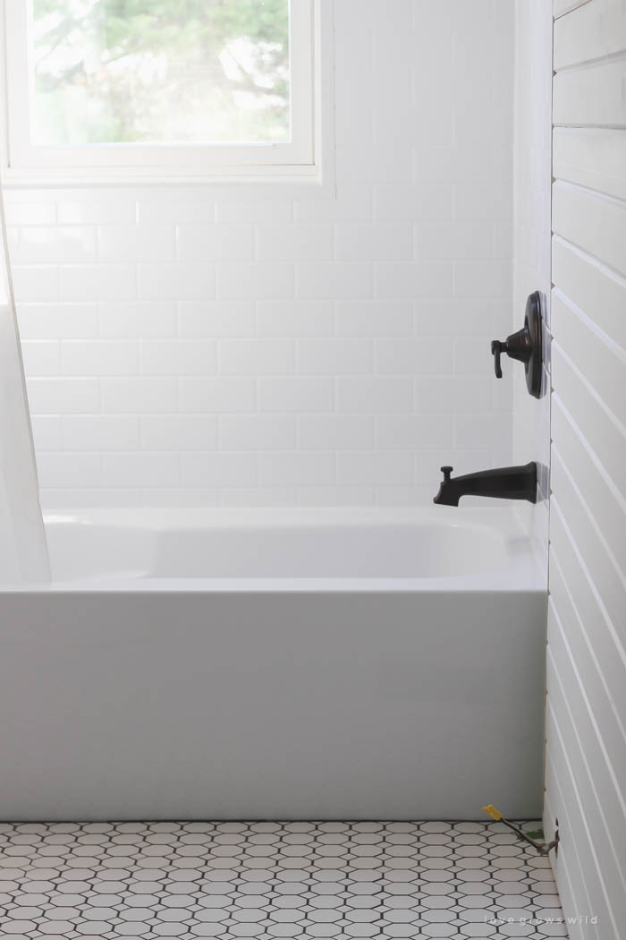 Bathroom Makeover Week 3 Tile Love Grows Wild