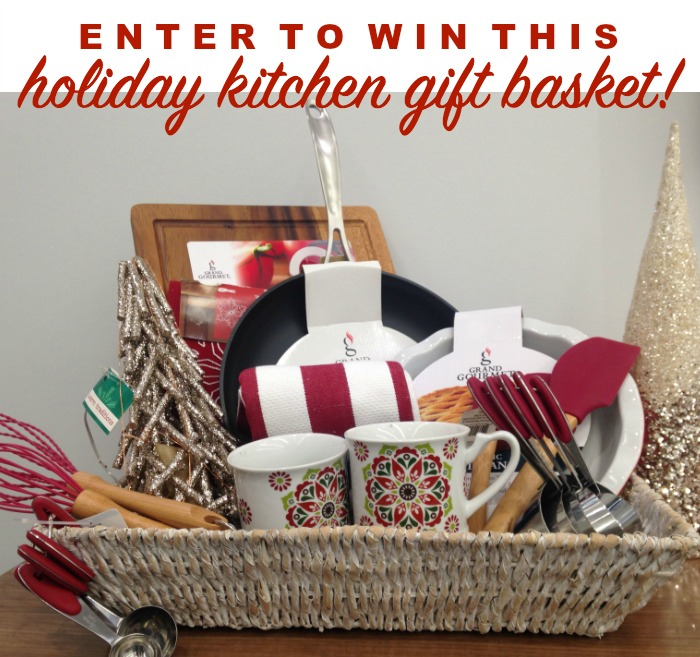 Enter to win a Holiday Kitchen Gift Basket! | LoveGrowsWild.com