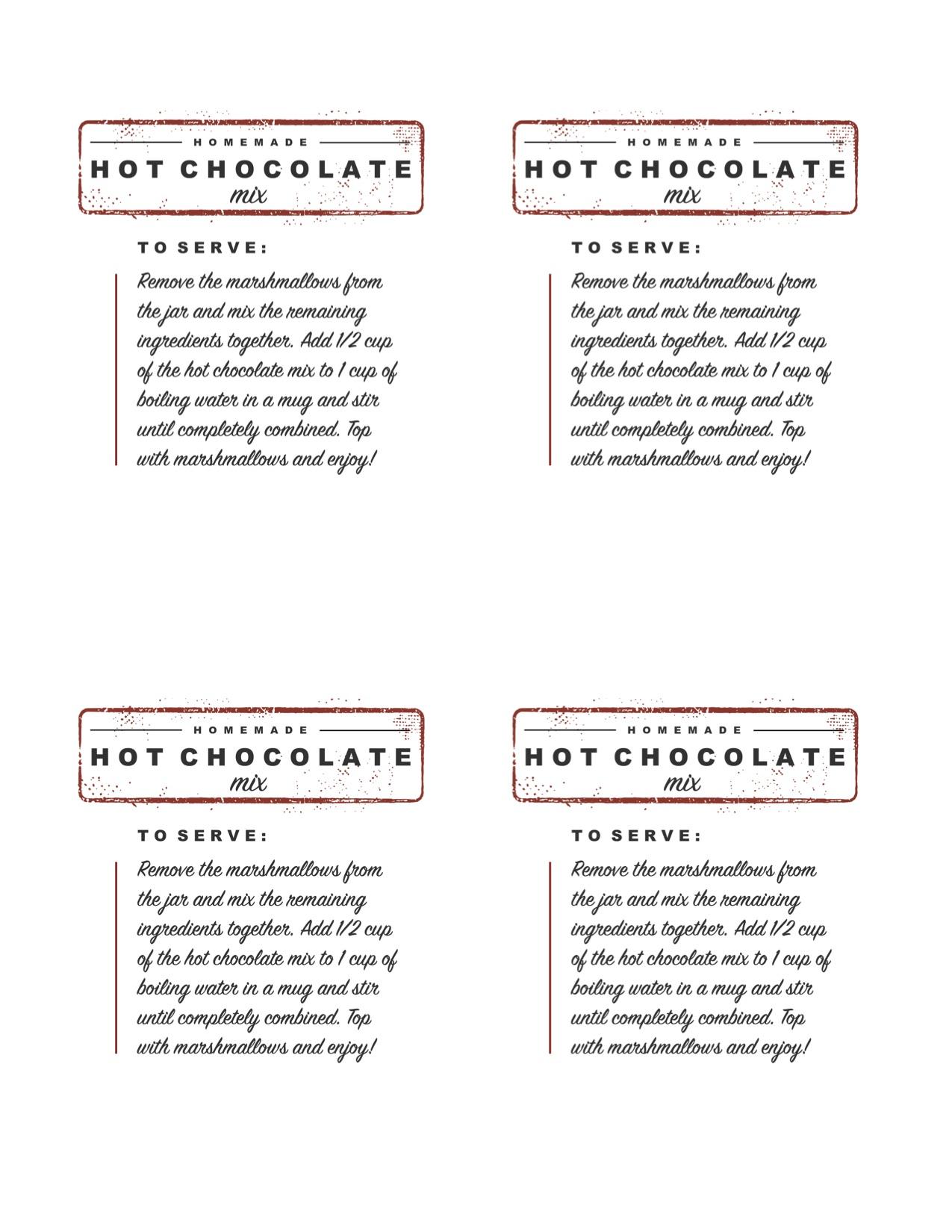 Hot Chocolate Mix To Make Brownies