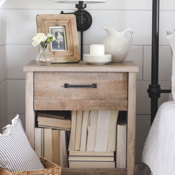 A Husband vs. Wife Style Challenge... whose nightstand will win?