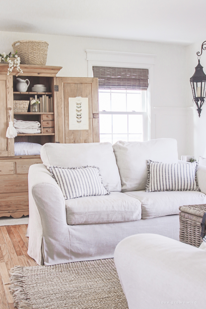 Living Room Slipcovers A Comfort