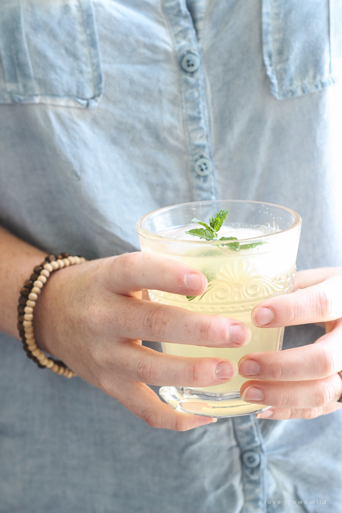 A refreshing orange twist on a classic summer drink. Fresh, sweet, and so simple to make!
