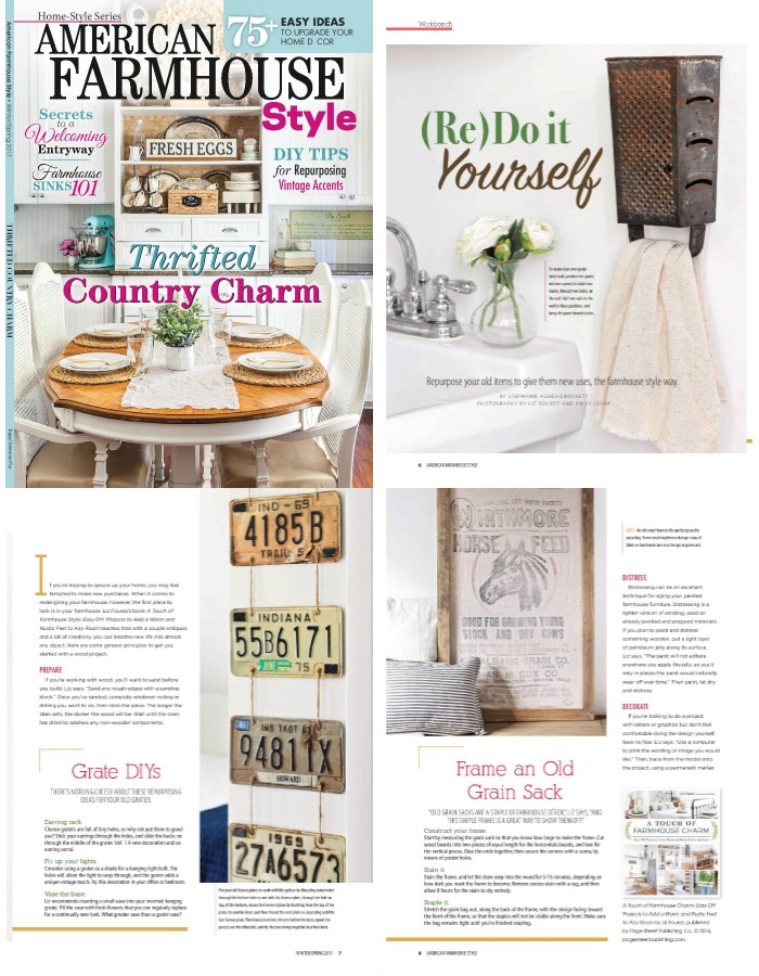 A Touch of Farmhouse Charm feature in American Farmhouse Style magazine