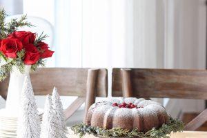 Farmhouse Christmas Kitchen + Gingerbread Bundt Cake