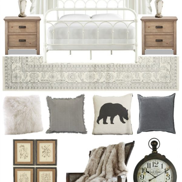 Ideas for a warm and cozy bedroom in beautiful neutrals!