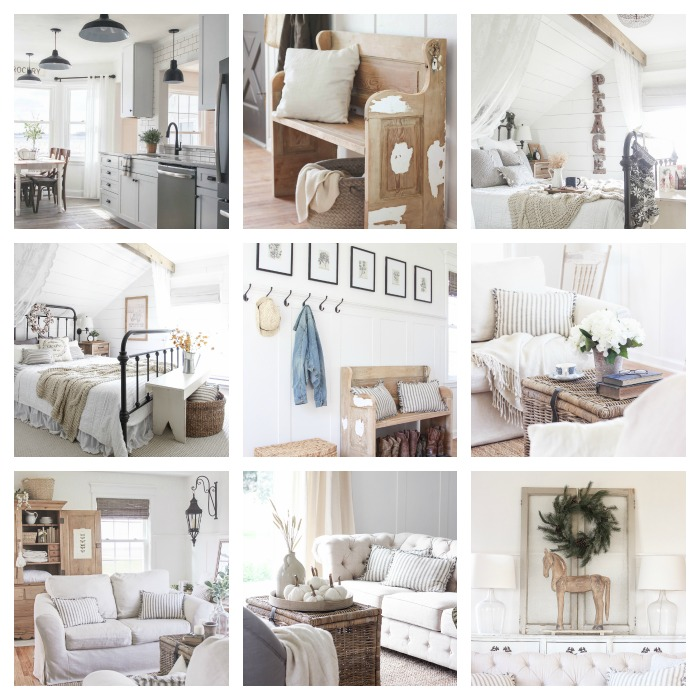 Favorite photos of this beautiful Indiana farmhouse in 2016 by Liz Fourez of Love Grows Wild