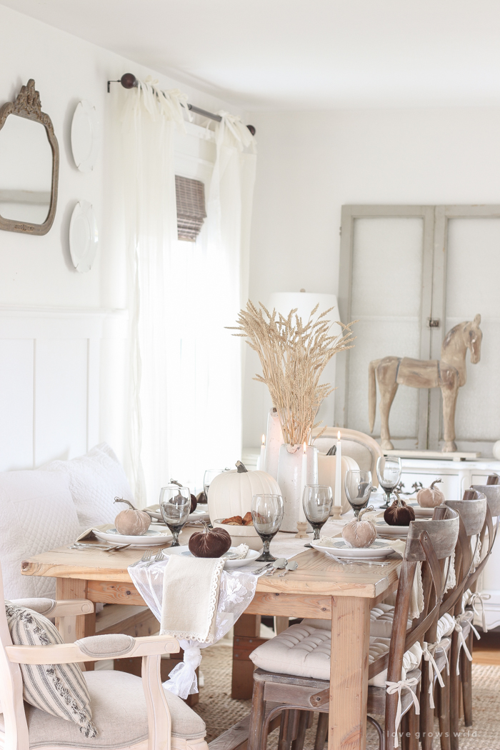 Wondrous Fall Country Harvest Tablescape Love Grows Wild Short Links Chair Design For Home Short Linksinfo