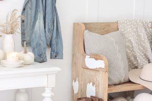 Fall into Home Tour | Our Entryway