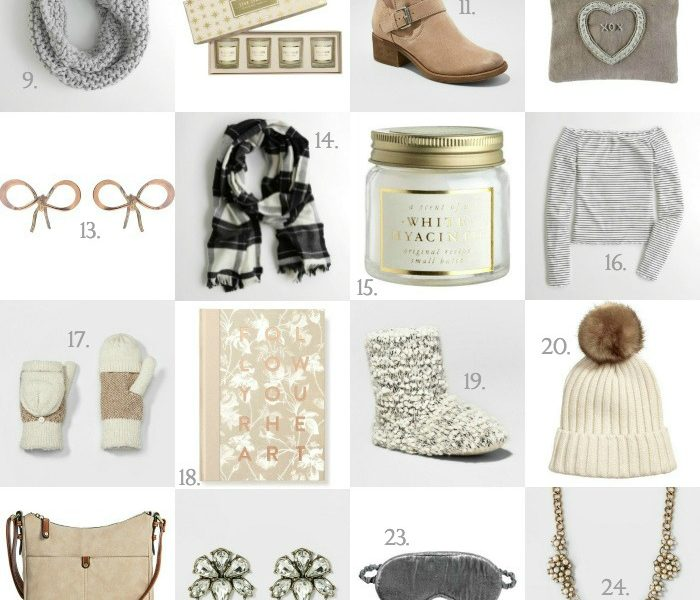 Holiday Gift Guide - Gifts For Her Under $30