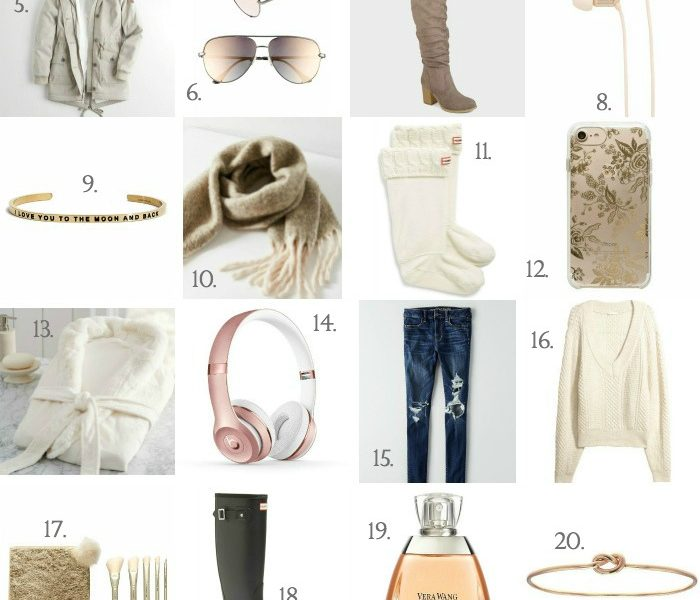 Holiday Gift Guide - Gifts to Really Spoil Her